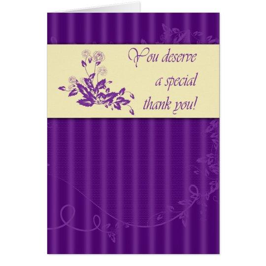 Admin Pro - Thank You Card