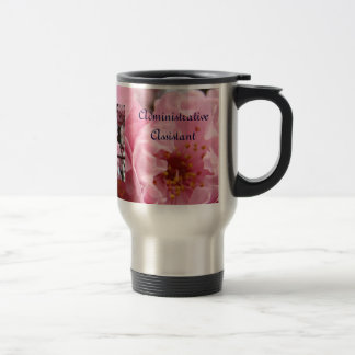 Administrative Assistant Coffee Mugs Pink Blossoms