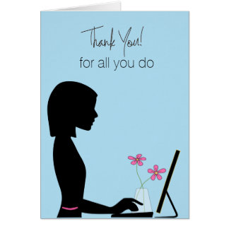 Administrative Professional's Appreciation Card