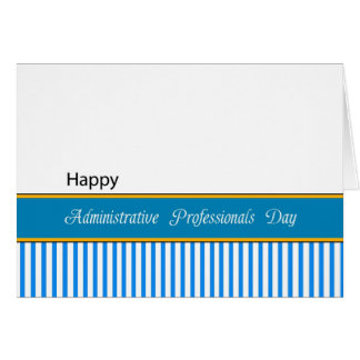 Administrative Professionals Day Card