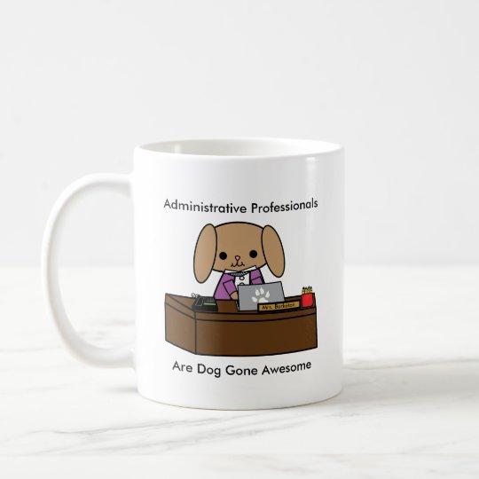 Administrative Professionals Dog Personalize Coffee Mug