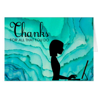 Administrative Professionals Thank You Card