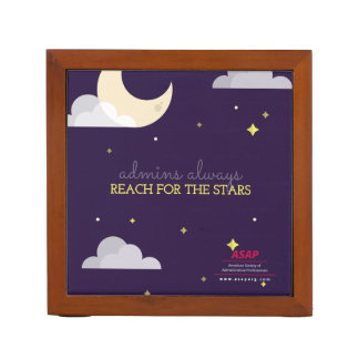 Admins Always Reach for the Stars Desk Organizer