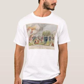 Admiral Cockburn burning and plundering T-Shirt