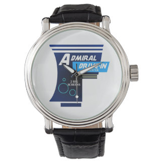Admiral Drive-in Theater Logo Watch