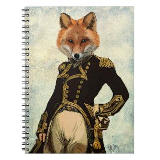 Admiral Fox Full 2 Notebooks