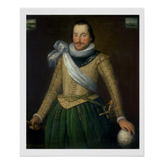 Admiral Sir Thomas Button (d.1694) Poster