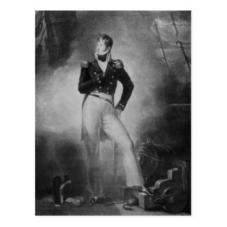 Admiral Thomas Cochrane Postcard