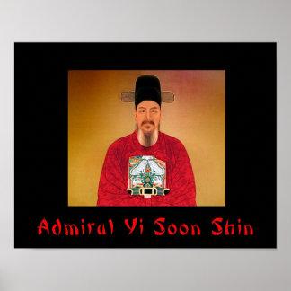 Admiral Yi Soon shin Poster