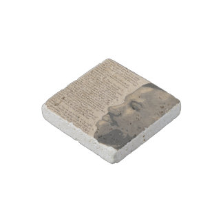 """Admired"" Natural Stone Magnet"
