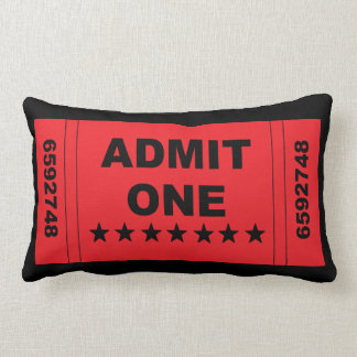 """Admit One"" Pillow"
