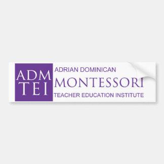 ADMTEI logo bumper sticker