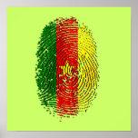 ADN 100% du Cameroun du Cameroun canerounais Poster