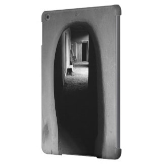 Adobe Passageway Black White photo Cover For iPad Air