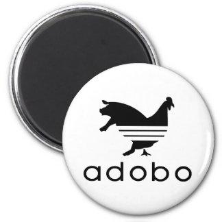 Adobo Chicken Pork 2 Inch Round Magnet