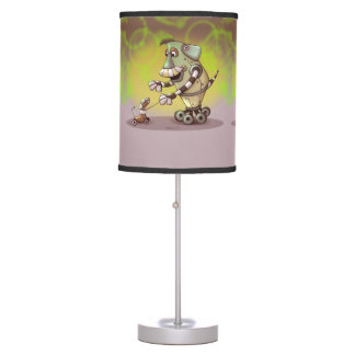 ADOGGY & FETCH ROBOT MONSTER CUTE ALIEN TABLE LAMP