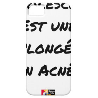 ADOLESCENCE IS A DIVING IN ACNÉE CASE FOR THE iPhone 5