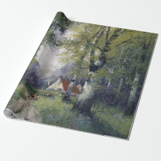 Adolf Kaufmann Spring Wrapping Paper
