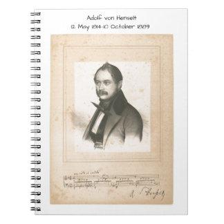 Adolf von Henselt Notebook
