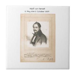 Adolf von Henselt Tile