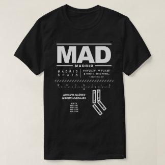 Adolfo Suárez Madrid-Barajas Airport MAD T-Shirt