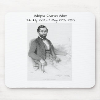 Adolphe Charles Adam, 1850 Mouse Pad