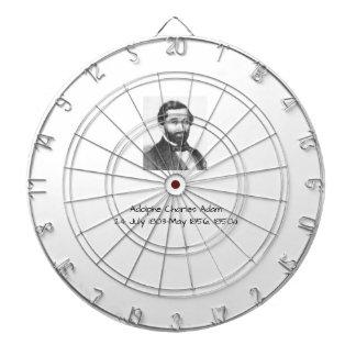 Adolphe Charles Adam, 1850a Dartboard