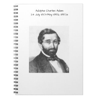 Adolphe Charles Adam, 1850a Notebook