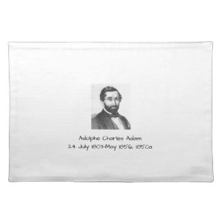 Adolphe Charles Adam, 1850a Placemat