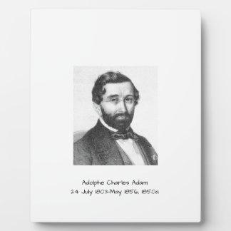 Adolphe Charles Adam, 1850a Plaque