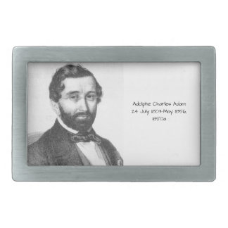 Adolphe Charles Adam, 1850a Rectangular Belt Buckles