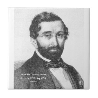 Adolphe Charles Adam, 1850a Tile