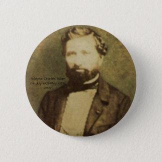 Adolphe Charles Adam, 1855 2 Inch Round Button