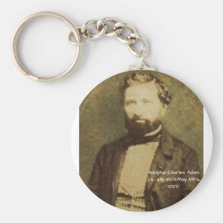 Adolphe Charles Adam, 1855 Keychain