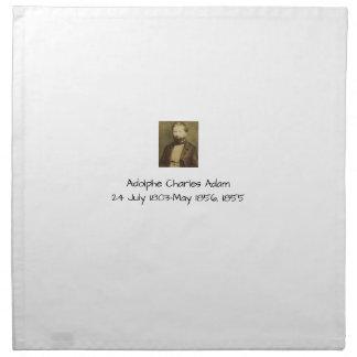 Adolphe Charles Adam, 1855 Napkin