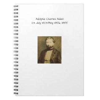 Adolphe Charles Adam, 1855 Notebook