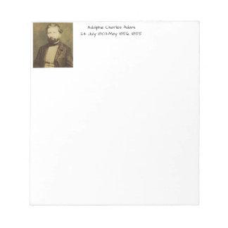 Adolphe Charles Adam, 1855 Notepad