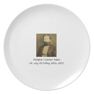 Adolphe Charles Adam, 1855 Plate