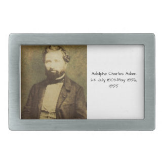 Adolphe Charles Adam, 1855 Rectangular Belt Buckle