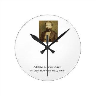 Adolphe Charles Adam, 1855 Round Clock