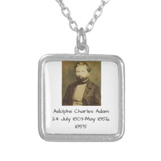Adolphe Charles Adam, 1855 Silver Plated Necklace