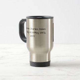 Adolphe Charles Adam, 1855 Travel Mug