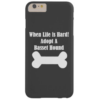 Adopt A Basset Hound Barely There iPhone 6 Plus Case