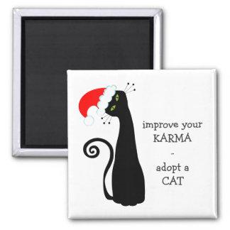 Adopt a Cat Magnet