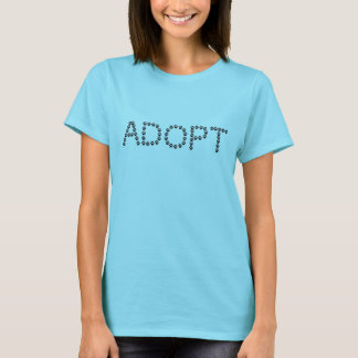 Adopt a Dog or Cat T-Shirt