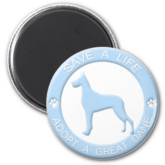 Adopt a Great Dane Magnet