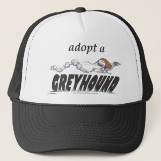 Adopt a Greyhound! Trucker Hat