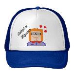 Adopt a Hipster cap Trucker Hat