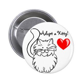 Adopt a Kitty button