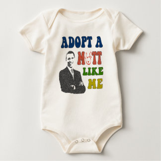 Adopt a Mutt Like Me Obama Infant Shirt